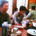 ODAさん宅で宴会中