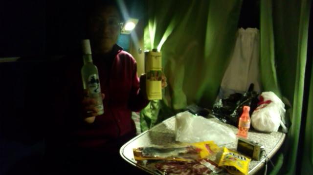 シベリア鉄道の夜