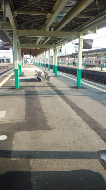 今日が最後の電車通勤