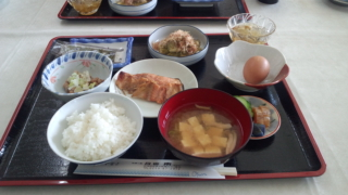佐渡・民宿の夕食
