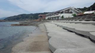 城が浜、アサリ探し大会