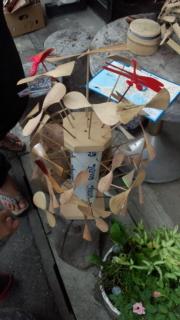 小木のスーパー竹トンボおじさん