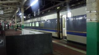 ある夜の新潟駅