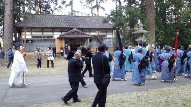 旧金井町八幡宮の祭礼