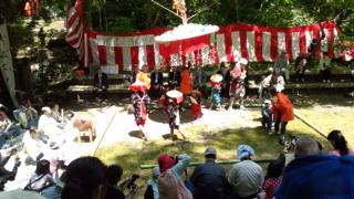 赤玉杉池祭りに感激