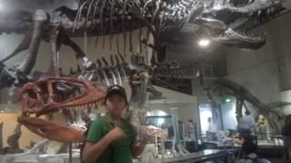 国立科学博物館に行ってきました!